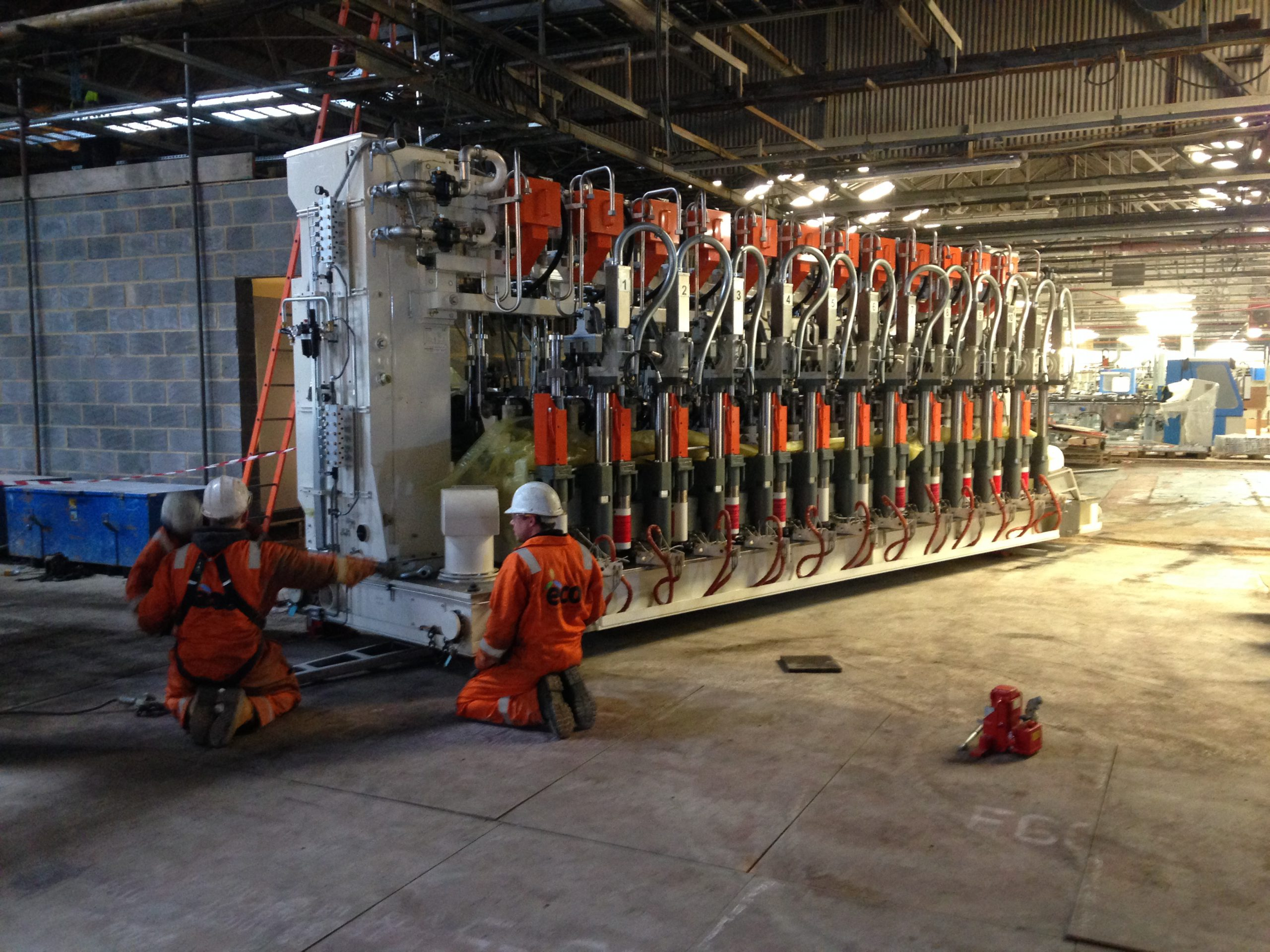 Independent Section Machines